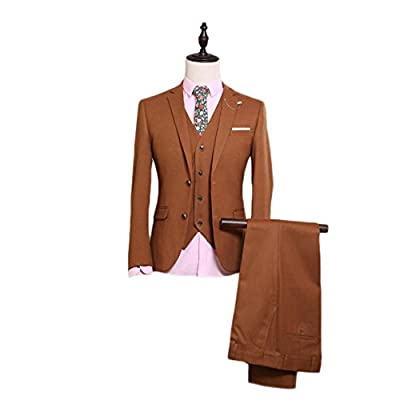 M/&S/&W Mens Csual Slim 1 Button Suit Coat Blazer Solid Color Outwear Lapel Outerwear