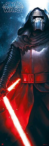 Star Wars: Episode VII - The Force Awakens - Door Movie Poster/Print (Kylo Ren) (Size: 21 inches x 62 inches)