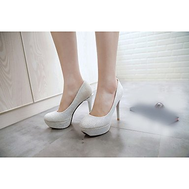Zormey Sandalias Mujer Club Verano Zapatos Casual Microfibra Stiletto Talón Rubor Rosa Plata Oro US7.5 / EU38 / UK5.5 / CN38