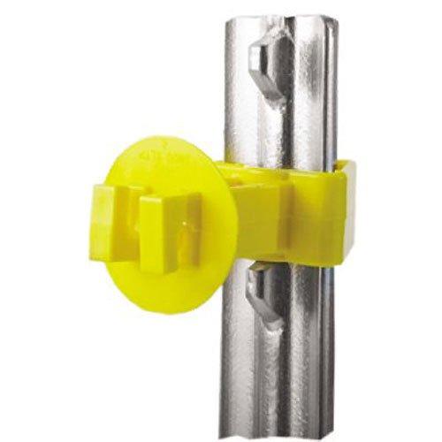 (Dare SNUG-XLSTP-25 25PC T-Post Insulator, Yellow)