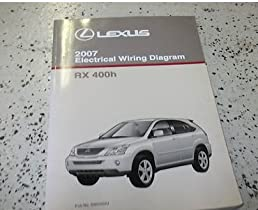 2007 lexus rx400h rx 400h electrical wiring diagram ewd service shop rh amazon com 2007 lexus rx400h service manual 2007 lexus rx400h repair manual
