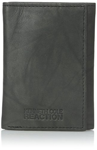 Kenneth Cole Tri Fold Wallet (Kenneth Cole REACTION  Men's Philmore Trifold Wallet, Black)