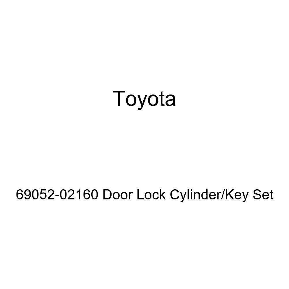 Genuine Toyota 69052-02160 Door Lock Cylinder//Key Set