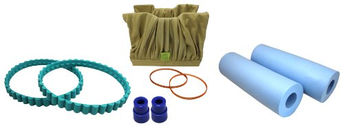 Tomcat® Tune-up KIT w/ PVA Brushes Replacement for Blue Diamond® / Aqua Products P/n: Sp3302,3506,3201,3009, 8100 & 8111 by Tomcat