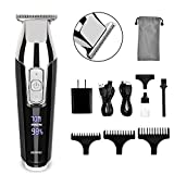 Hair Clippers, RENPHO Professional Hair Trimmer with T-Blade, Cordless Hair Cutting Kit Beard