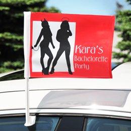 Cathy's Concepts Devil's Advocate Bachelorette Car Flag