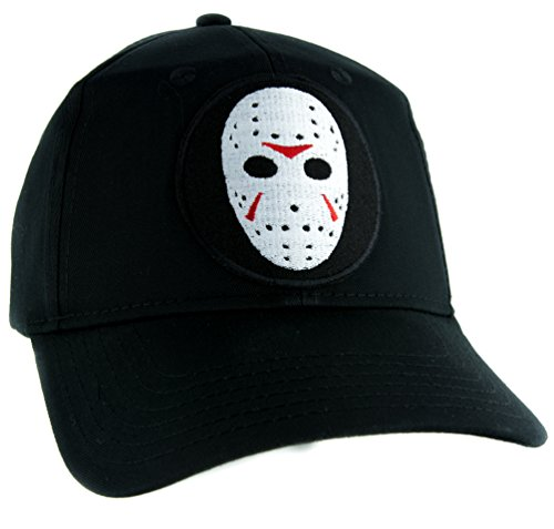 (Hockey Mask Friday the 13th Hat Baseball Cap Horror Clothing Jason Voorhees )