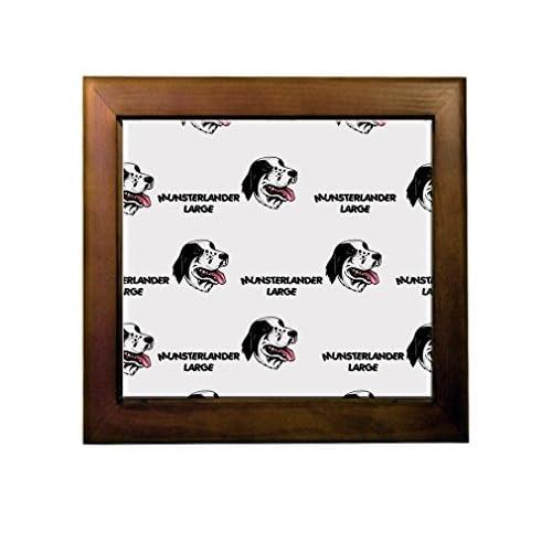 durable modeling Munsterlander Large Dog Breed Ceramic Tile Backsplash Accent Mural
