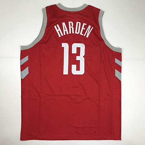 Unsigned James Harden Houston Red Custom Stitched Basketball Jersey Size Men's XL New No -
