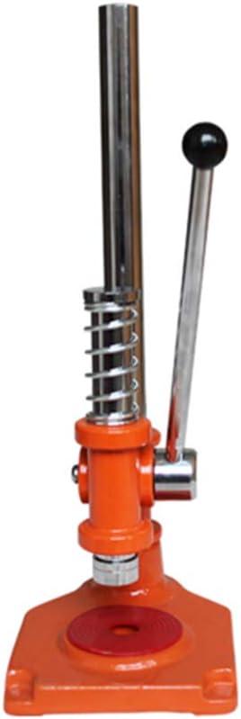 N / E Máquina taponadora Manual de Cerveza, taponadora Manual Multiusos para Tapones de Vidrio, para Coronas/Botellas de Cerveza/Tapas de Botellas de Vidrio, tamaños de YG-50