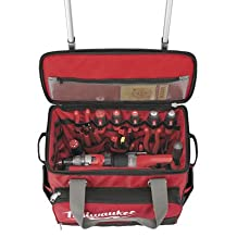 "MILWAUKEE ELEC TOOL 48-22-8221 18"" Jobsite Rolling Bag"
