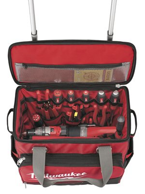 "MILWAUKEE ELEC TOOL 48-22-8221 18"" Jobsite Rolling Bag"