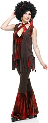 [San Francisco Hippie Costume - X-Small - Dress Size 3-5] (San Francisco Adult Hippie Costumes)