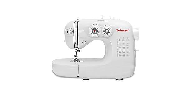 Techwood TMAC-421 - Máquina de coser (Blanco, Máquina de coser ...