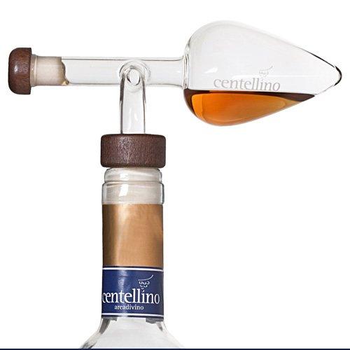 Centellino C60 Areadivino Wine Aerator and Decanter 60ml For Wine, and Raisin Wine by Centellino