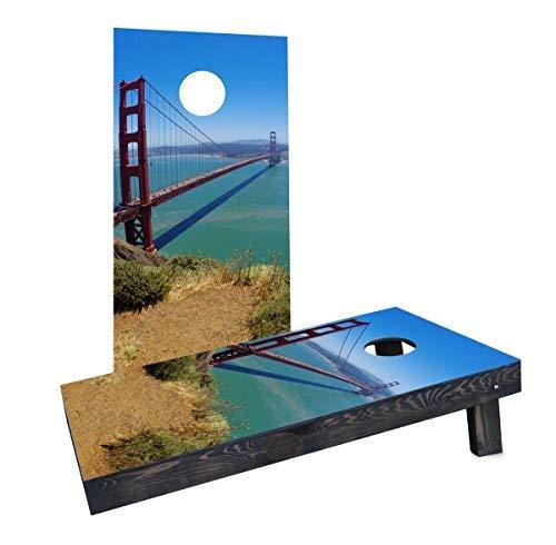 人気デザイナー Custom Cornhole Cornhole Boards Incorporated CCB482-AW Golden Gate Bridge Cornhole Cornhole Bridge Boards [並行輸入品] B07HLHQKW3, チガサキシ:b971ed28 --- ciadaterra.com