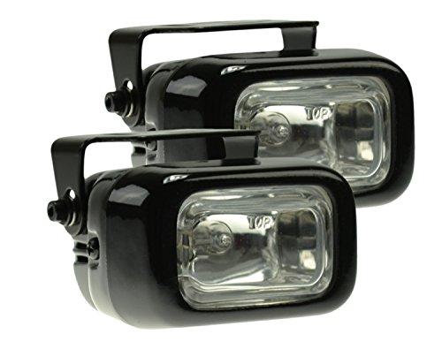 HELLA Optilux H71020061  Model 1400 12V/55W Rectangular Halogen Driving Lamp Kit (Driving 55w Light)