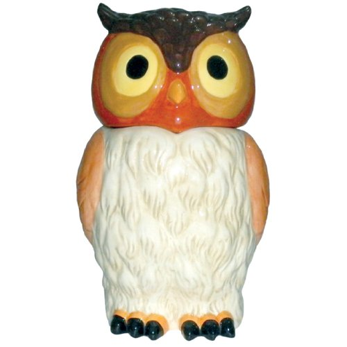 Westland Giftware Ceramic Cookie Jar, 11-Inch, Kookie Owl