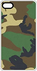 Army Marine Camouflage Clear Rubber Case for Apple iPhone 5 or iPhone 5s