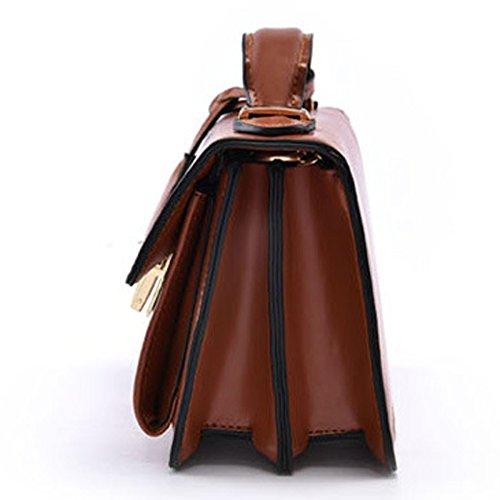 Femme Rétro 2018 À Femme Petit Sac YYwangpu Sac Main OneSize Simple Mode Parti Épaule Chaîne Nouvelle WineRed Diagonale Croix Paquet PU gpOpq5w