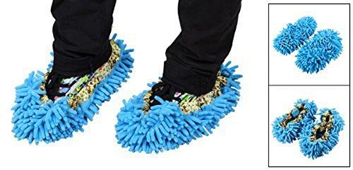 Dealglad - Zapatillas de estar por casa para hombre Azul