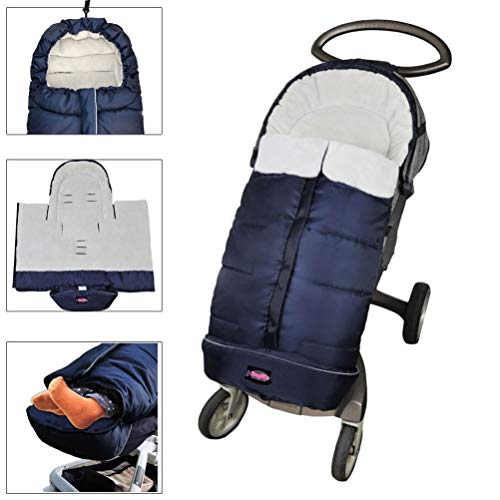 Cozy Toe Winter Tour Waterproof Sleep Sack for Toddlers,Universal Footmuff for Stroller,Multi-Functional Stroller Bunting Bag Blanket,6-36M Baby Use