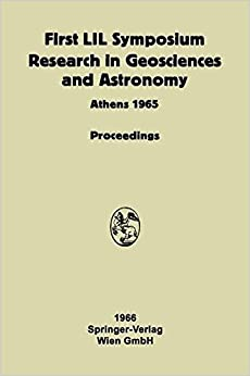Book Proceeding of the First Lunar International Laboratory (Lil) Symposium Research in Geosciences and Astronomy: Organized By The International Academy . . . Anniversary Of Unesco (German Edition)