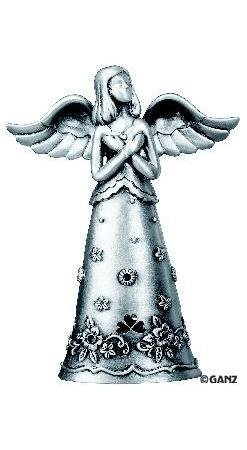 Ganz Faithful Angels Pewter Angel of Remembrance Figurine