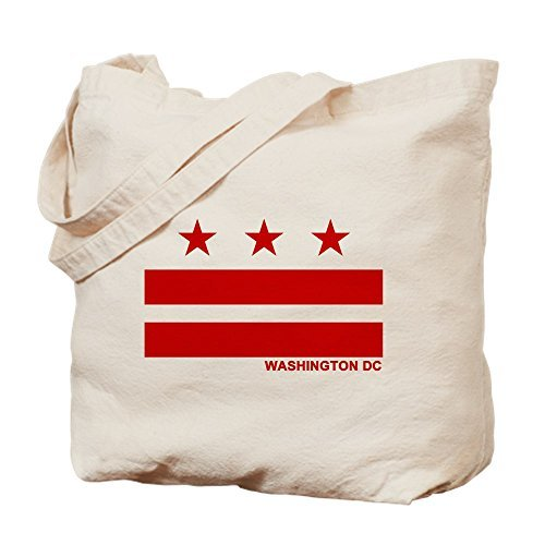 Washington Dc Flag Canvas Tote Bag Reusable Ecofriendly Shopping Bag Washable Tote Bags for Women
