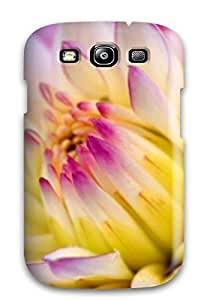 For ElsieJM Galaxy Protective Case, High Quality For Galaxy S3 Lavender Flowers Skin Case Cover