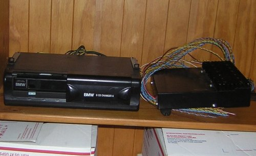 BMW E39 E36 E46 E53 TRUNK 6 CD CHANGER PLAYER RECEIVER MAGAZINE (Bmw E36 Compact)