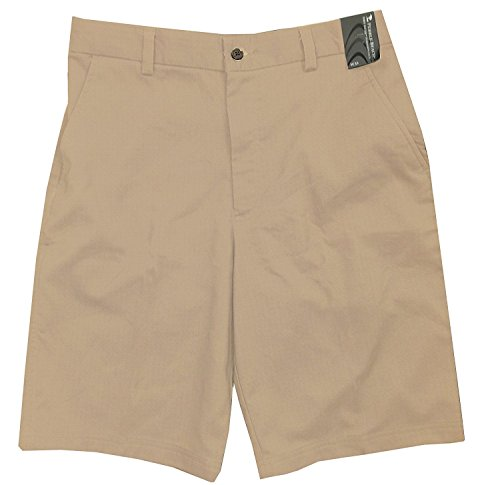Pebble Beach Men's Dry-Luxe Performance Shorts (36, Plaza Taupe)