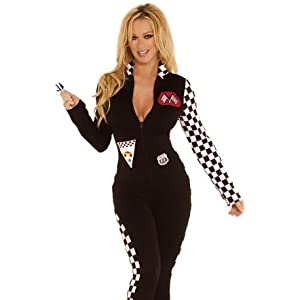 Popular Brand Sexy Race Car Driver Costume Racy Racer Girl Uniform Racing Cheerleader Dress With Hat Latest Technology Women's Costumes