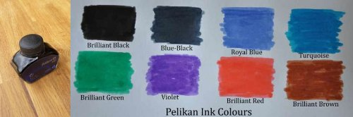 Pelikan 329193 Ink Bottle 76 4001 Violet 62.5 - Pelikan Pen Plastic