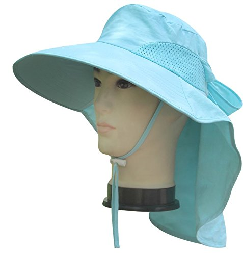 41f48de722b AUCH Adjustable Quick-drying Outdoor UV Spf 50+ Large Brim Visor ...
