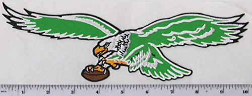 quality design 4e976 d4fb7 Large Philadelphia Eagles Throwback Old Logo Jacket Patch 10