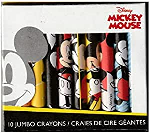 Set of 2 or 6 Handmade Crayons Mouse Hat inspired JUMBO Crayons
