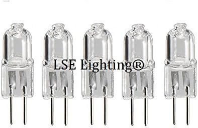 5Pack G4 12V 10W JC Type Lighting Halogen Bulb 12 Volt 10 Watt Puck Lights Light Spectrum Enterprises Inc JCG412V10W
