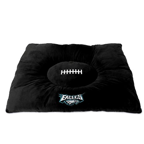 - NFL PET Bed - Philadelphia Eagles Soft & Cozy Plush Pillow Bed. - Football Dog Bed. Cuddle, Warm Sports Mattress Bed for Cats & Dogs