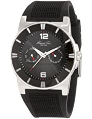 Kenneth Cole New York Mens KC1405-NY Sport Trend Round black Watch