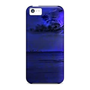 For Iphone 5c Premium Tpu Case Cover The Darkside Of Nature Protective Case