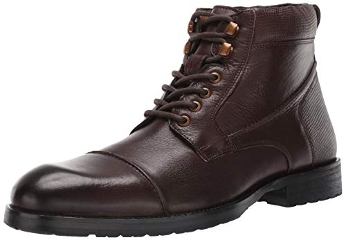 Kenneth Cole REACTION Men's Brewster Boot B Fashion, Brown, 8 M US
