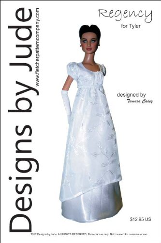 Regency Printed Sewing Pattern for Tyler Wentworth Doll