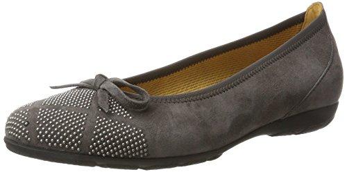 Zinn Mujer 19 Casual Gabor Shoes Gris Bailarinas para Gabor qP84Sxf
