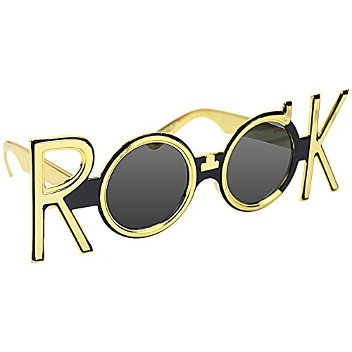 musykrafties Rock Party Costume Sunglasses Fun ()