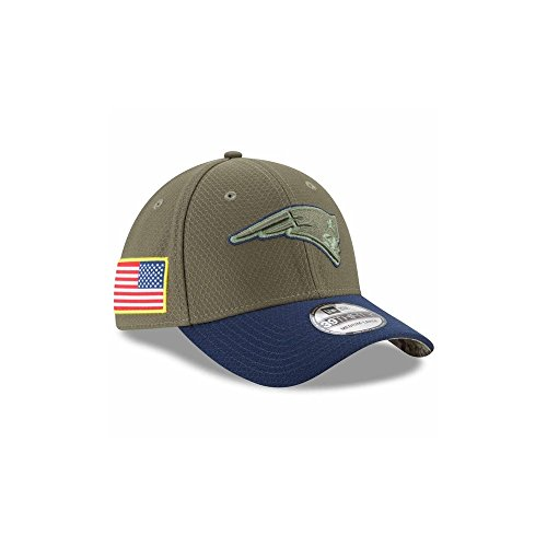 007e869b9e9 ... where to buy new era 39thirty hat new england patriots nfl on field  salute to service