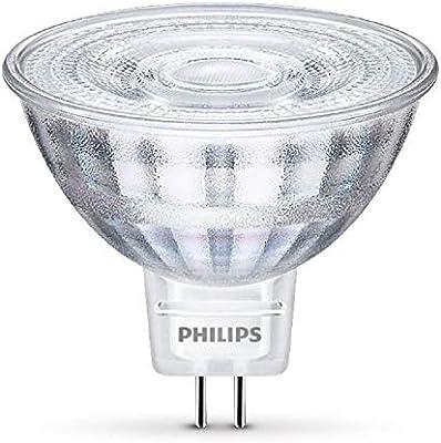 Philips Foco LED GU5.3, 3 W, luz blanca