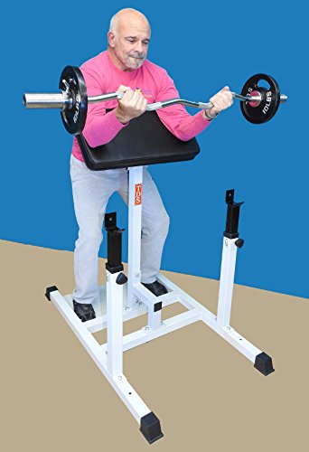 TDS Standing Arm (Preacher) Curl Machine for Homes and Clubs