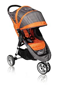 Baby Jogger 2010 City Mini Single Stroller, Orange/Grey (Discontinued by Manufacturer)