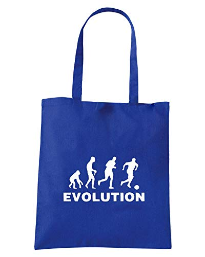 Borsa Shopper Royal Blu EVO0011 EVOLUTION CALCIO